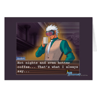 "Godot - ""Hot Nights"" Card"