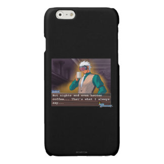 "Godot - ""Hot Nights"" Glossy iPhone 6 Case"