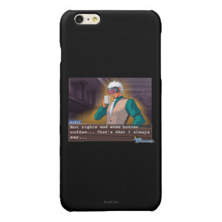 """Godot - """"Hot Nights"""" Glossy iPhone 6 Plus Case"""