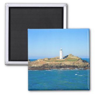 Godrevy Lighthouse in Cornwall Magnet