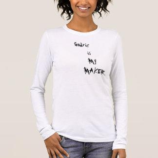 Godric       is         My            MAKER Long Sleeve T-Shirt