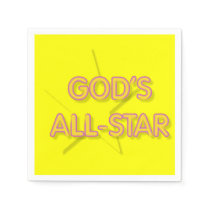God's All-Star Napkin