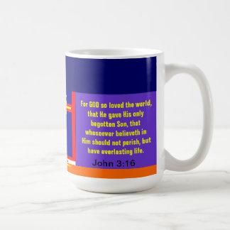 """GOD's Amazing Love"" Classic White Coffee Mug"