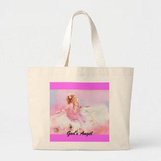God's Angel Large Tote Bag