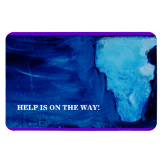 GOD'S ANSWER (HELP IS ON THE WAY) MAGNET