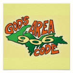 God's Area Code: 906 Poster