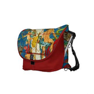 Gods Astrology Mythology HUGE Crossbody Tote Bag Courier Bags