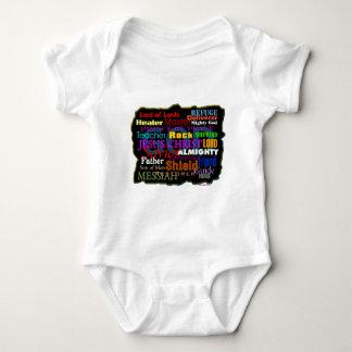 God's Attributes Baby Bodysuit