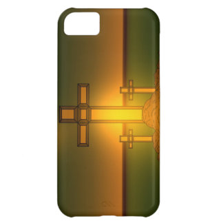 God's Aura Light over the Cross of Christ iPhone iPhone 5C Cover