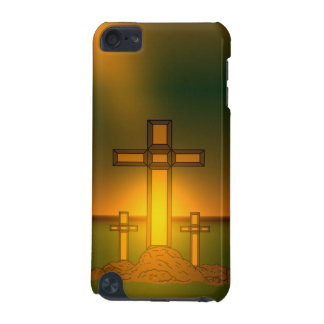 God's Aura Light over the Cross of Christ iPod iPod Touch 5G Cover