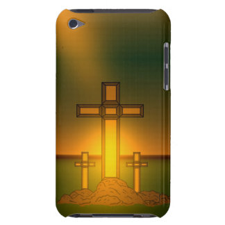 God's Aura Light over the Cross of Christ iPod iPod Touch Cases