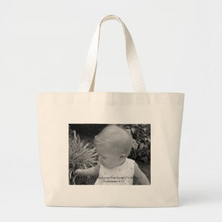 God's Beauty Large Tote Bag