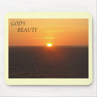 God's Beauty mouse pad