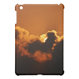 God's Blessing at sunset Cover For The iPad Mini
