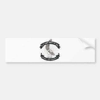 Gods Boomerang Bumper Sticker