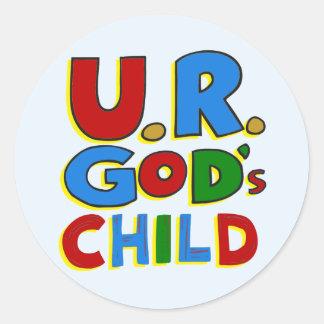 God's Child Stickers