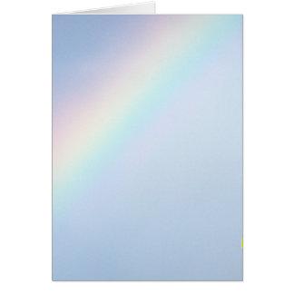 God's Colorful Rainbow Card