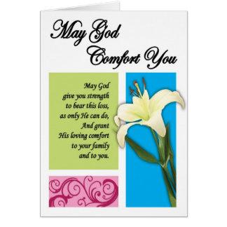 God's Comfort Card