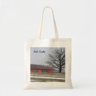 God's Country Canvas Bag