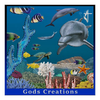 Gods creation poster