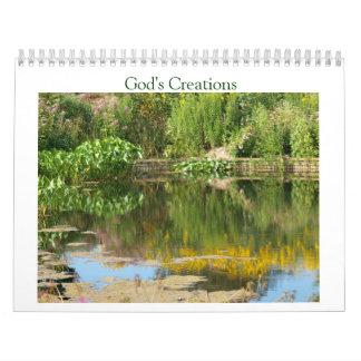 God's Creations Calendar