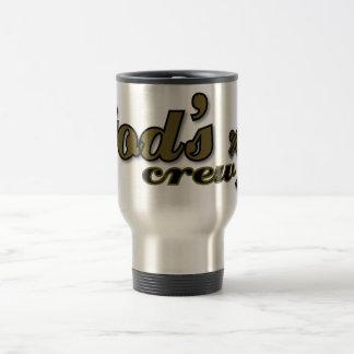 God's Crew Christian travel mug