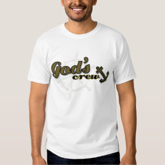 God's Crew Christian vest T-Shirt