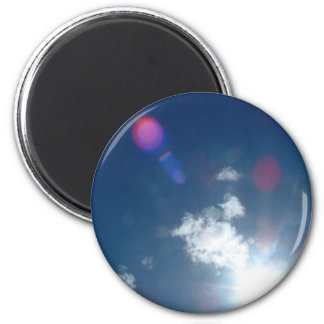 God's Expession's 2 Inch Round Magnet