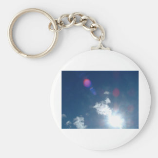 God's Expession's Basic Round Button Keychain