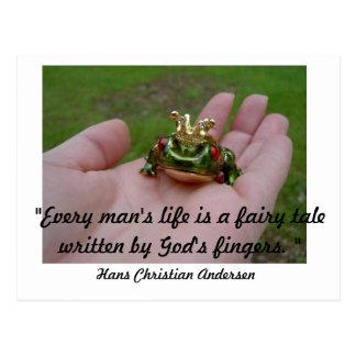 God's fairy tale postcard