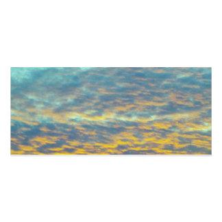GOD'S Fingerprints in the Clouds Bookmark Custom Rack Cards
