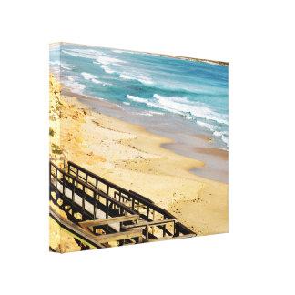 Gods_Front_Garden,_Beach_Canvas_Picture. Canvas Print