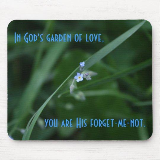 God's Garden Mouse Pad