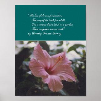 God's Garden (poem) - poster