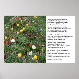 God's Garden Posters
