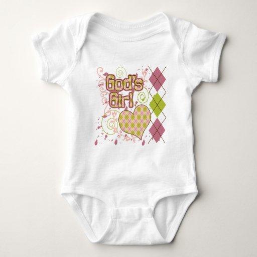 God's Girl Baby Bodysuit