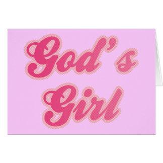 God's Girl Card