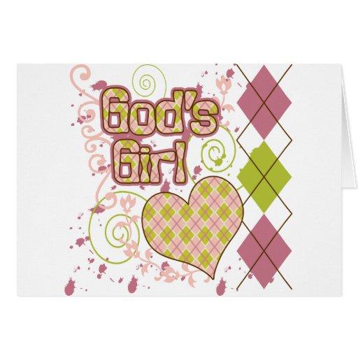 God's Girl Greeting Card