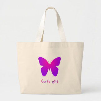 God's Girl Large Tote Bag