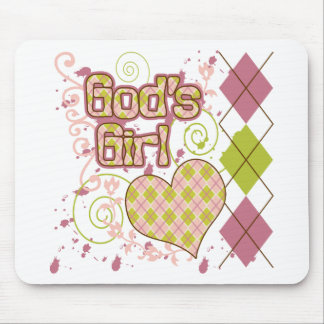 God's Girl Mouse Pad