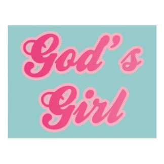 God's Girl Post Card