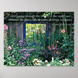 God's Glance Print
