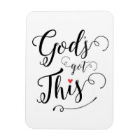 God's Got This Magnet