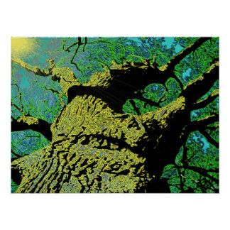 God's Great Mighty Oak Poster