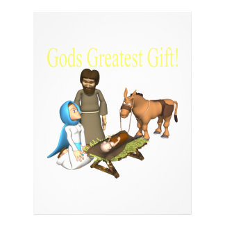Gods Greatest Gift Flyers