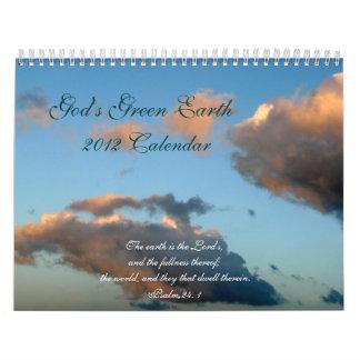 God's Green Earth-Nature Scenes/Scripture Quotes Calendar