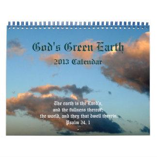 God's Green Earth+Nature-Scripture Quotes Calendar