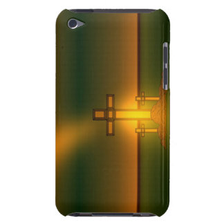 God's Hand's over the Cross of Christ iPod Case