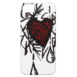 God's Heart iPhone 5 Cases