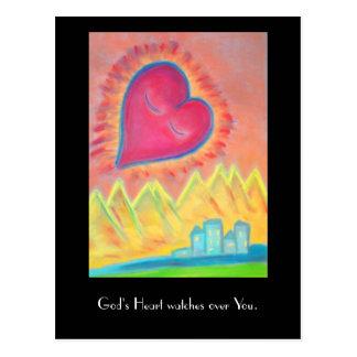God's Heart postcard